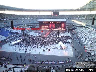 Stade de France le 11 septembre 2009 vu de A1 rang 74