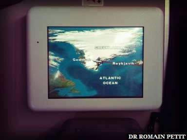 Au dessus du Groenland