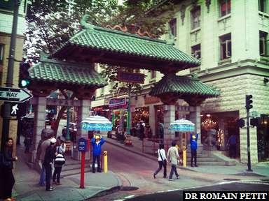 Porte du quartier Chinatown à San Francisco