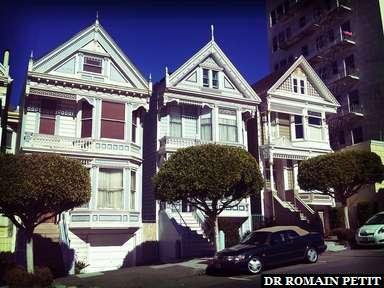 Painted ladies à San Francisco