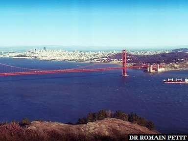 Entrée de la baie de San Francisco
