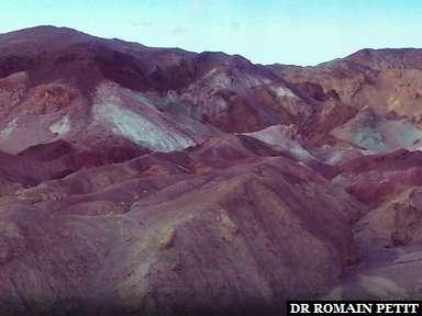 Artist's Palette à Death Valley