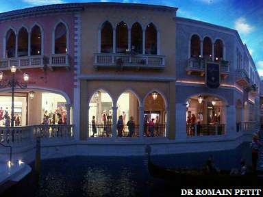 Boutiques du Venetian à Las Vegas