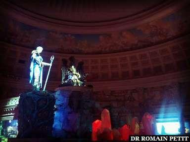Spectacle au Caesar à Las Vegas