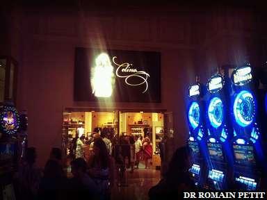 Boutique de Celine Dion au Caesar à Las Vegas
