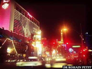 Le strip à Las Vegas