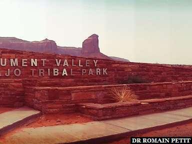 Entrée de Monument Valley
