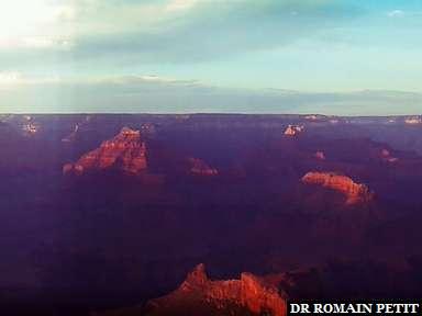 Grand Canyon au coucher du soleil