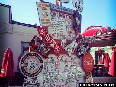 Resto sur la Route 66 à Williams, Arizona