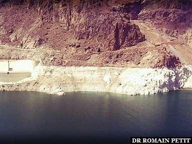 Hoover Dam côté lac