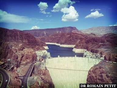 Hoover Dam côté rivière