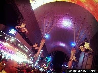 Fremont Street dans Downtown Las Vegas