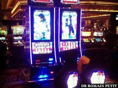 Machines à sous Michael Jackson au MGM Grand