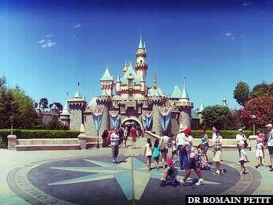 Sleeping Beauty Castle à Disneyland Park