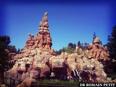 Big Thunder Mountain Railroad à Disneyland Park