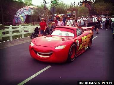 Lightning McQueen à Disney California Adventure Park