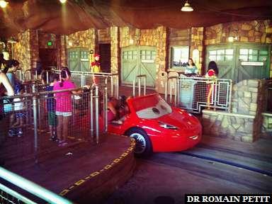 Radiator Springs Racers à Disney California Adventure Park