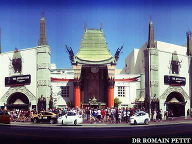 Grauman's Chinese Theater sur Hollywood Blvd à Los Angeles