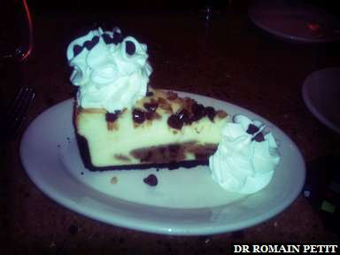 Chocolate Chip Cookie-Dough Cheesecake