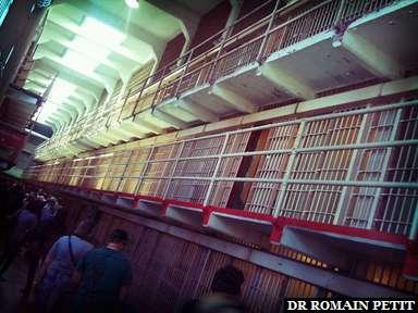 Cellules d'Alcatraz