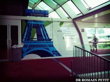 Bien arrivés à Paris