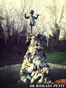 Statue Peter Pan à Kesington Garden