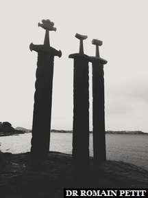Sverd i fjell (Les épées sur les rochers), Stavanger