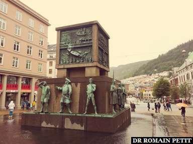 Sjomannsmonumentet (monument des marins) à Bergen