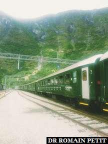 Train de Myrdal à Flåm.