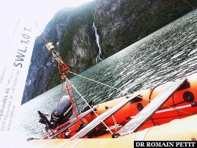 Croisière dans les fjords.