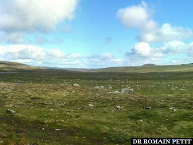 Panoramique (sans filtre) près de Geilo.