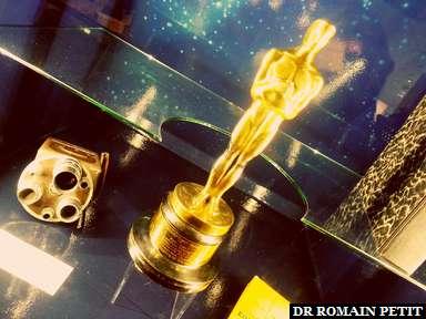 Academy Award for Best Documentary Feature / Oscar du Meilleur Film Documentaire pour Kon-Tiki (1950) de Thor Heyerdahl, exposé au Musée Kon-Tiki à Oslo.