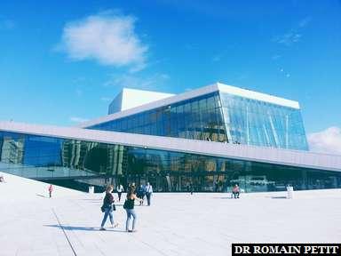 Opéra d'Oslo.