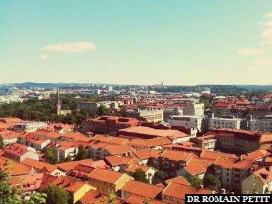 Göteborg vu depuis la Forteresse.