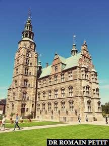 Rosenborg Castle à Copenhague.