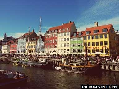 Maisons sur le canal Nyhavn à Copenhague.