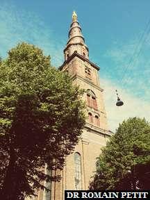 Église de Notre-Sauveur (Erlöserkirche) à Copenhague.