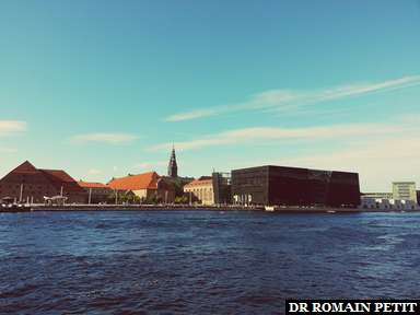 Bibliothèque Royale (Den Sorte Diamant) à Copenhague.