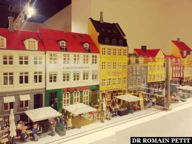 Reproduction de Nyhavn à la boutique Lego de Copenhague.