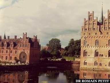 Panoramique sur le Château d'Egeskov.