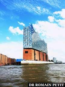 Elbphilharmonie à Hambourg.