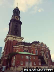 Église St. Michaelis à Hambourg.
