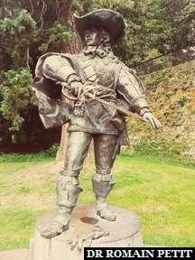 Statue de d'Artagnan à Maastricht.