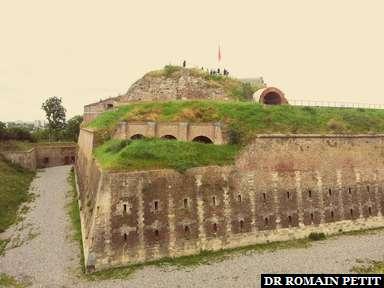 Fort Sint Pieter à Maastricht.