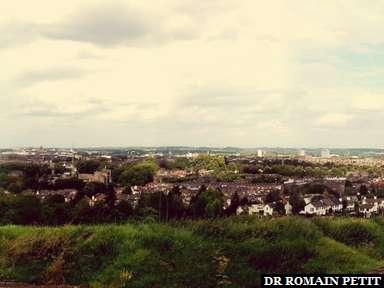 Panoramique de Maastricht.