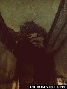Intérieur de Grotten Zonneberg, galeries souterraines, à Maastricht.