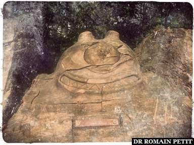 Sculpture sur bois du Cyclope