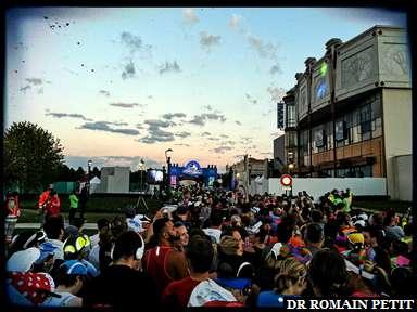 Dans le SAS C du Semi-Marathon Disneyland Paris - Val d'Europe à 7h39