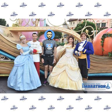 Rencontre avec Cinderella, Prince Charming, Belle et The Beast