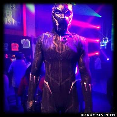 Costume de Black Panther, personnage Marvel
